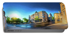 Rue Port Dauphin - Painting Portable Battery Charger