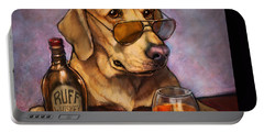 Ruff Whiskey Portable Battery Charger by Sean ODaniels
