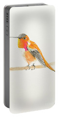 Rufous Hummingbird Portable Battery Charger