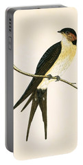 Rufous Swallow Portable Battery Charger by English School