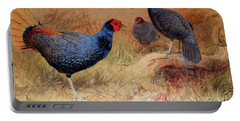 Rufous Tailed Crested Pheasant Portable Battery Charger