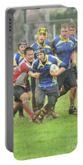Rugby In The Mud Portable Battery Charger