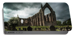 Ruins Of Bolton Abbey Portable Battery Charger by Jaroslaw Blaminsky
