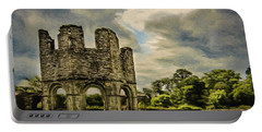 Ruins Of Mellifont Abbey Portable Battery Charger by Jeff Kolker