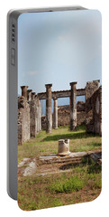 Ruins Of Pompeii Portable Battery Charger