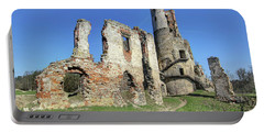 Portable Battery Charger featuring the photograph Ruins Of Zviretice Castle by Michal Boubin