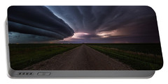Portable Battery Charger featuring the photograph Run by Aaron J Groen