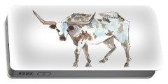 Running Back Texas Longhorn Lh070 Portable Battery Charger