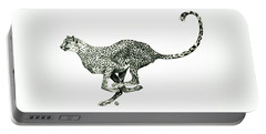 Running Cheetah Portable Battery Charger
