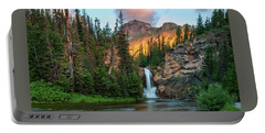 Running Eagle Falls - Montana  Portable Battery Charger