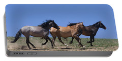 Running Free- Wild Horses Portable Battery Charger