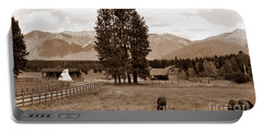 Rural Montana  Portable Battery Charger