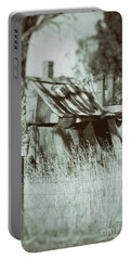 Portable Battery Charger featuring the photograph Rural Reminiscence by Linda Lees