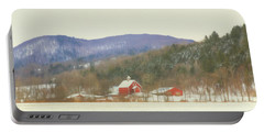Rural Vermont Portable Battery Charger by Sharon Batdorf