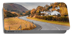 Rural Wales In Autumn Portable Battery Charger