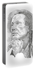 Russell Means Portable Battery Charger
