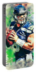 Russell Wilson Portable Battery Charger
