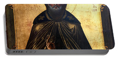 Russian Icon Portable Battery Charger by Victor Minca