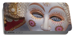 Russian Mask 4 Portable Battery Charger by Jeff Burgess