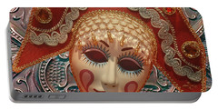 Russian Mask2 Portable Battery Charger by Jeff Burgess