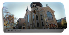 Russian Orthodox Cathedral Of The Transfiguration Of Our Lord Portable Battery Charger