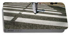 Russian Street Crossing Portable Battery Charger by KG Thienemann