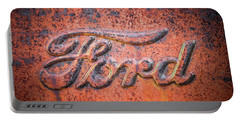 Rust Never Sleeps - Ford Portable Battery Charger