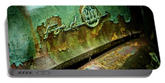 Rusted Ford Portable Battery Charger