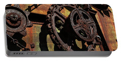 Rusted Gears Portable Battery Charger