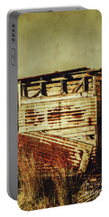 Rustic Abandonment Portable Battery Charger