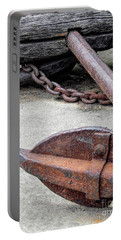 Rustic Anchor Portable Battery Charger