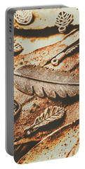 Rustic Autumn Accessories Portable Battery Charger
