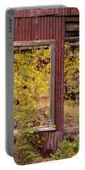 Portable Battery Charger featuring the photograph Rustic Autumn by Leland D Howard