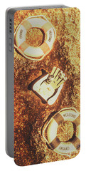 Rustic Beach Decorations  Portable Battery Charger