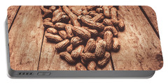 Rustic Country Peanut Heart. Natural Foods Portable Battery Charger