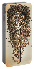 Rustic Drinks Artwork Portable Battery Charger