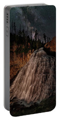 Rustic Falls Forever Portable Battery Charger