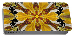 Portable Battery Charger featuring the digital art Rustic Lifespring by Derek Gedney