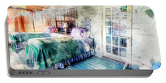 Rustic Look Bedroom Portable Battery Charger