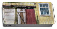 Rustic Shed Panorama Portable Battery Charger
