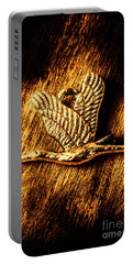 Rustic Stork Pendant Portable Battery Charger