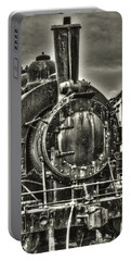 Rusting Locomotive Portable Battery Charger