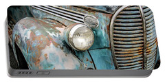 Rusty Blues Portable Battery Charger by David Lawson