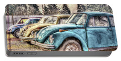 Portable Battery Charger featuring the photograph Rusty Bugs by Jean OKeeffe Macro Abundance Art