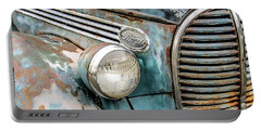Rusty Ford 85 Truck Portable Battery Charger by David Lawson