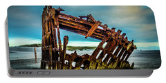 Rusty Forgotten Shipwreck Portable Battery Charger