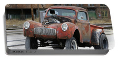 Rusty Gasser Portable Battery Charger by Christopher McKenzie