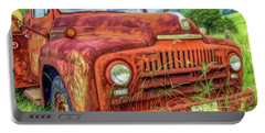 Portable Battery Charger featuring the photograph Rusty International by Marion Johnson