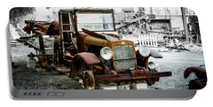 Rusty International Truck Portable Battery Charger