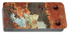 Rusty Layers Portable Battery Charger
